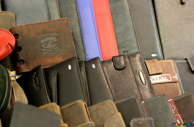 Leather wallets №49166