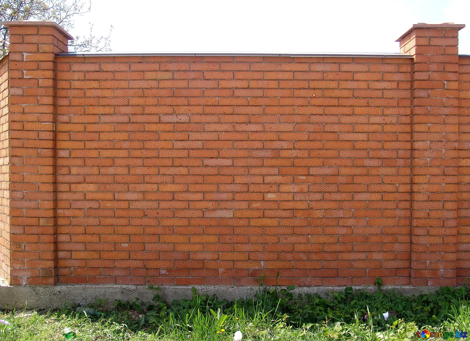 テクスチャのレンガ スパン 煉瓦 塀 保護 5351