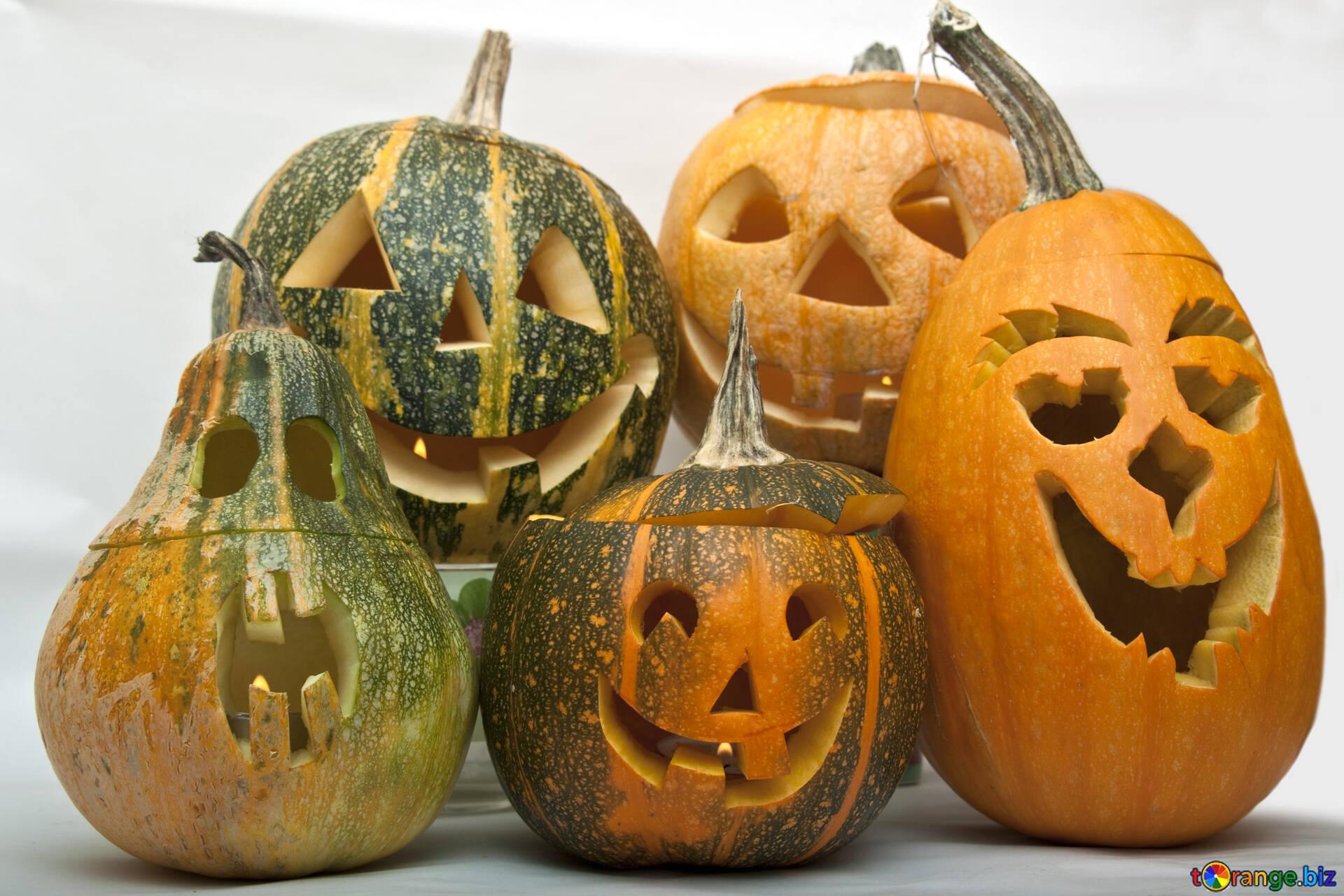 Befestigungen der kürbisse für halloween fertigkeiten von kürbis ...