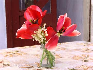 Simple bouquet №5311