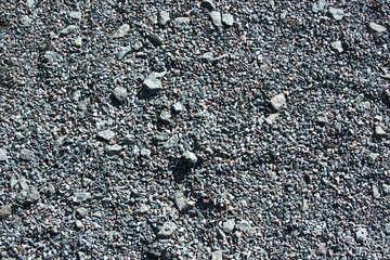Gravel  track . texture. №5696