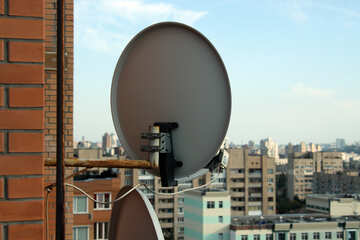 Satellite antenna parete №5780