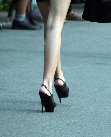 Women feet №5125