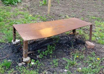 Garden grill. №5421