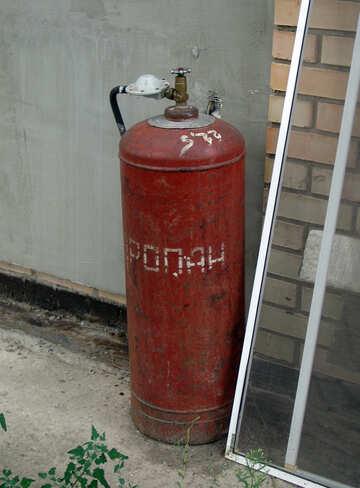 Gas bottle №5855