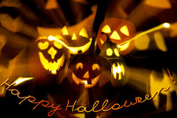 Halloween  mail  Postcard №5936