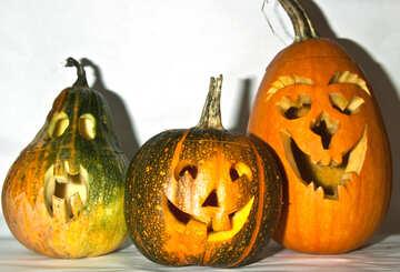 Funny  pumpkin №5964