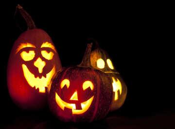 Glow  pumpkin №5921