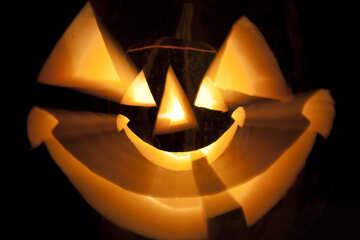 Smiling  pumpkin №5947