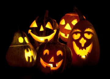 Candles   pumpkins №5929