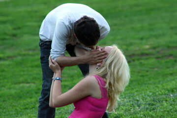 Kuss. Küssen der Paare. №5133