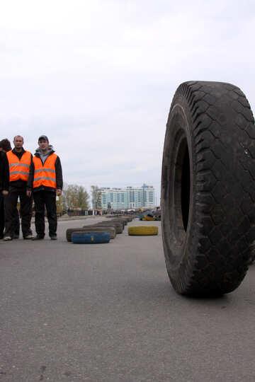 Marshals near the road №5203