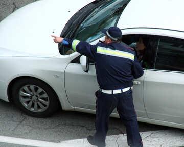 Ukrainian road Policeman №5224