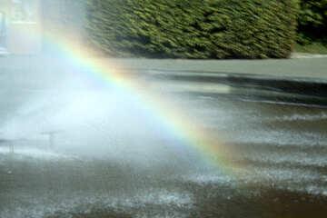Rainbow Fountain №5634
