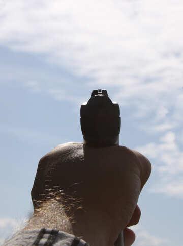 Pistol shot №5477