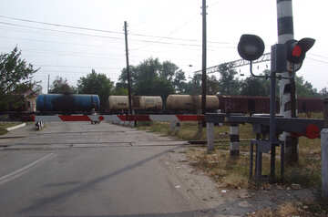Unfall  an  Züge №5872