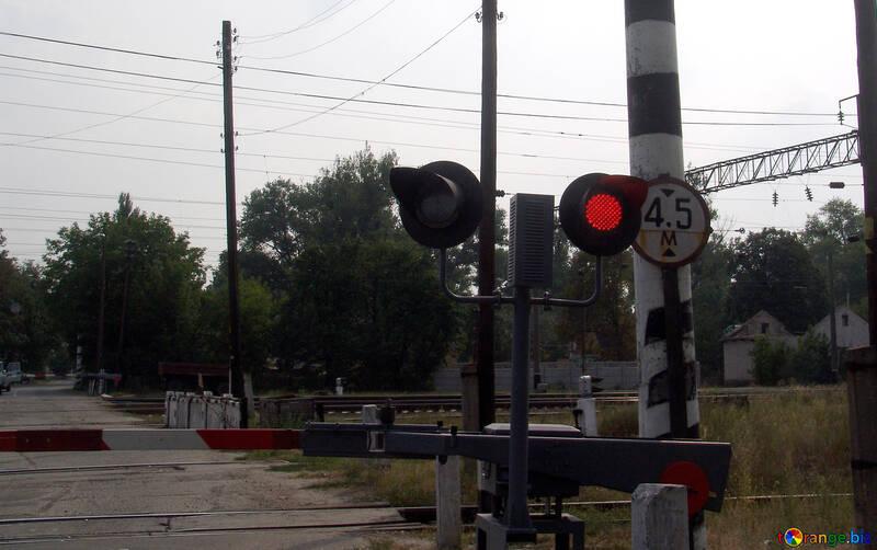 Rosso  luce  guida incrocio №5879