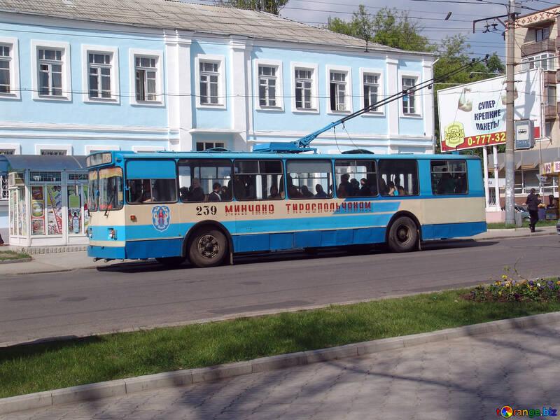 Trolleybus in Tiraspol №5379