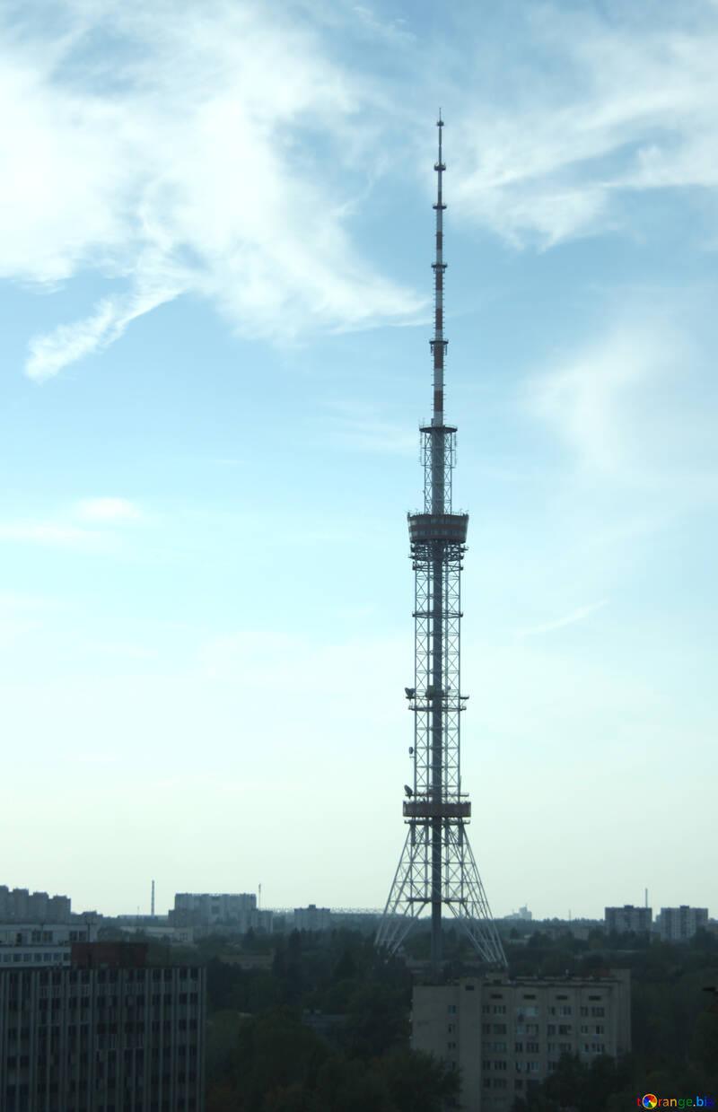 Fernsehapparat Aufsatz . Kiew. №5781