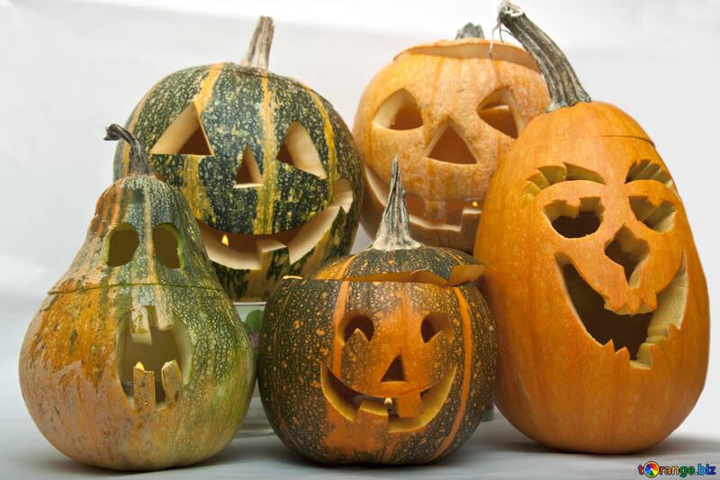 Crafts  of the  pumpkin №5958