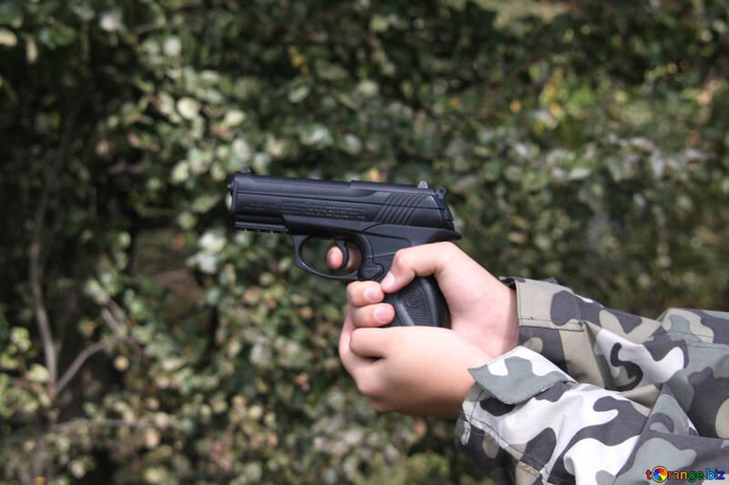 Hunting with gun №5571