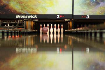 bowling alley strike №50455