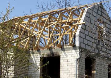 Mansard attic construction №50365