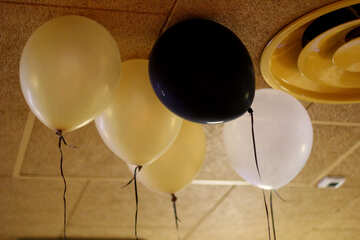 balloons on ceiling №50417