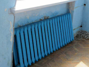 Heizungsbatterie heizkörper blau №50535