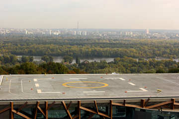 Big city helipad heliport №50960