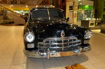 Car black in department store №50313