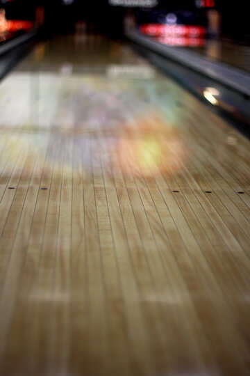 bowling alley lane floor №50445