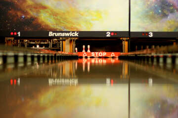 Brunswick stop sign bowling №50453