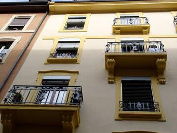 Bright facade №50245