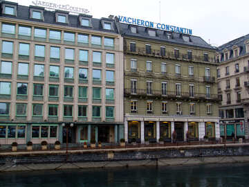Buildings on the waterfront №50049