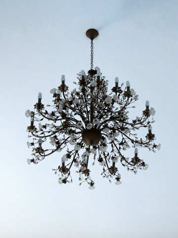 chandelier lamp №50531
