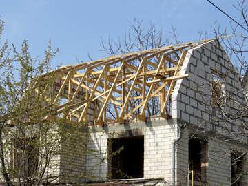 Constructing  house №50364