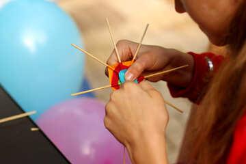 string crafting ballon №50991