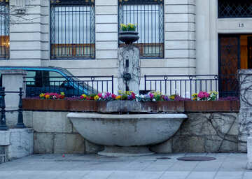 Drinking Fountain №50143