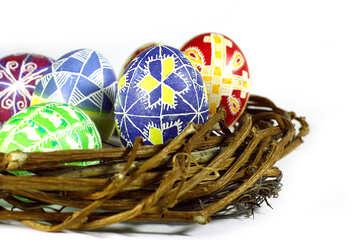Easter balls eggs №50274