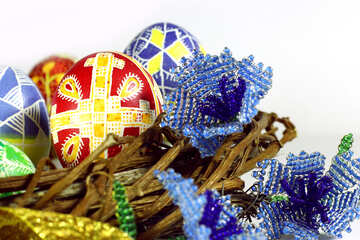 Easter basket eggs №50277