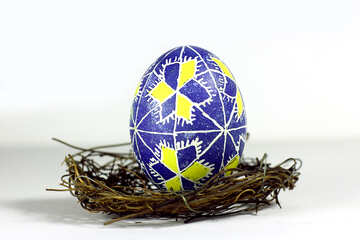 easter egg in basket №50264