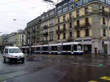 New European tram №50104