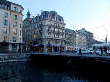 Bridge in Geneva №50086