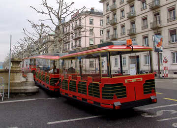 Treno guidato a Ginevra №50152