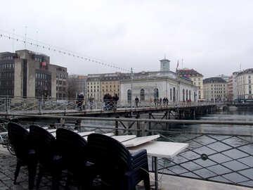 Pedestrian bridge in Geneva №50139