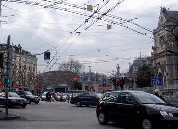 Straßenkreuzungen in Genf №50010