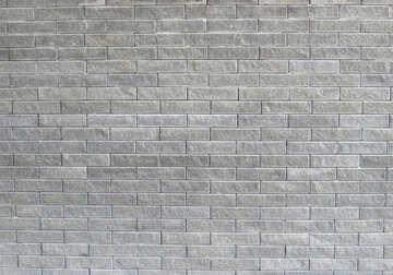 Trama di muro di mattoni grigi №50483