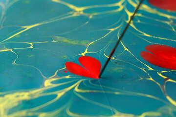 flower heart paint №50913