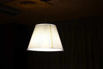 glowing lamp shade light №50418